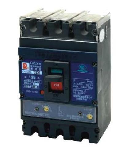 常熟塑壳断路器CM2-400L/3340
