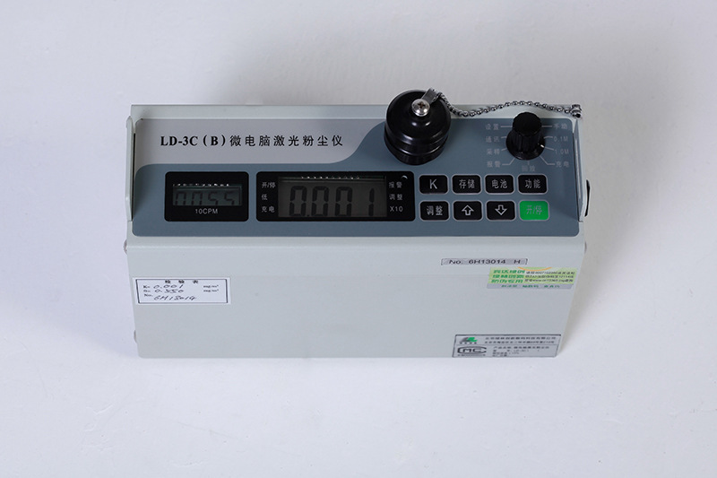 深圳PM10可吸入颗粒物微电脑激光粉尘仪LD-3C(B) 1分钟出结果 可导出
