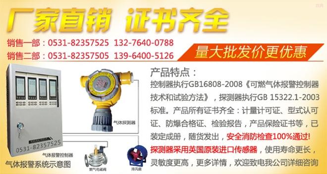 JB-TB-2020DH氯气泄漏报警器
