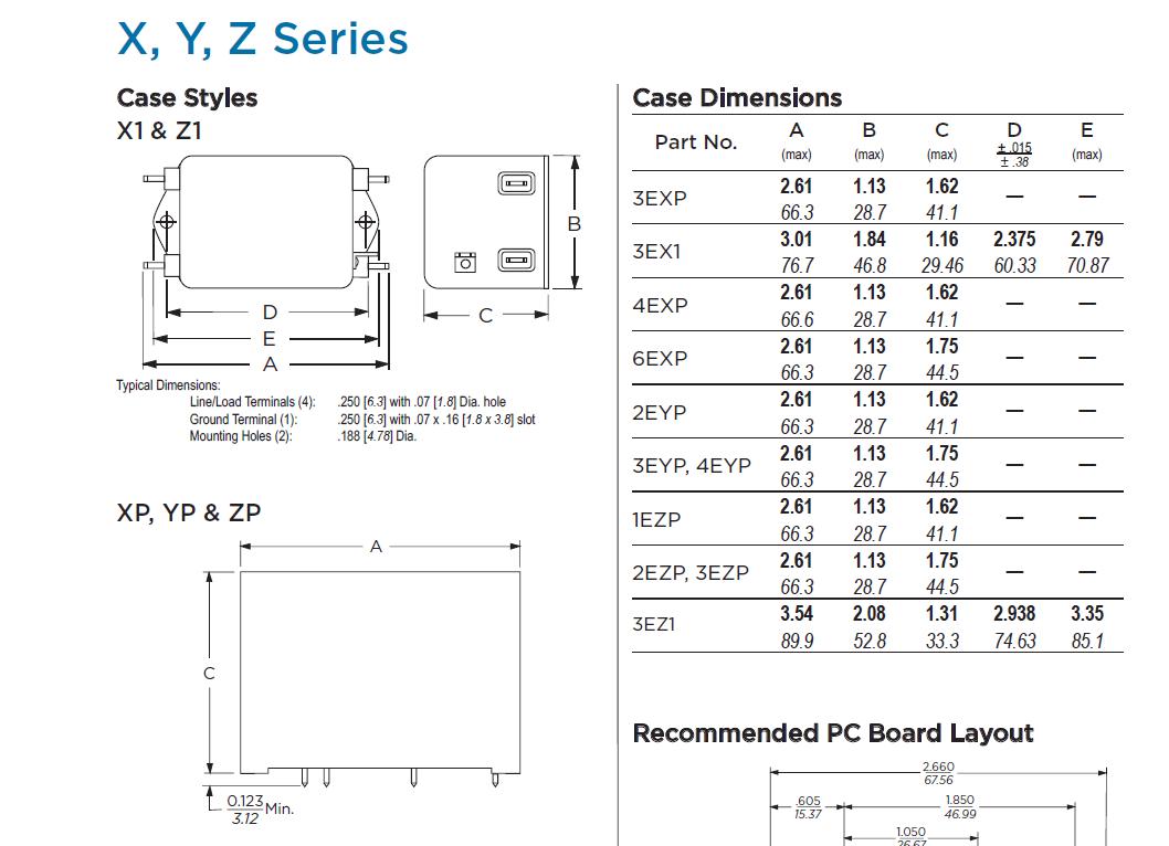 3exp电源滤波器