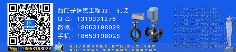 FUS380-DN125西門子熱量表