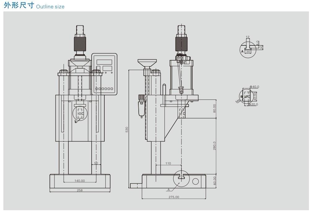 5at气动精密压力机(1.5吨)图片