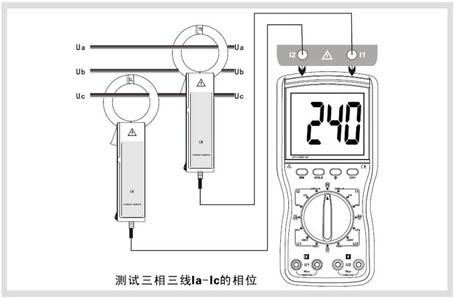 ETCR4200-双钳数字相位伏安表