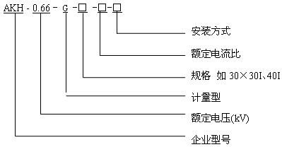 计量型电流互感器 AKH-0.66G-30I 0.2S级 精度高 安科瑞