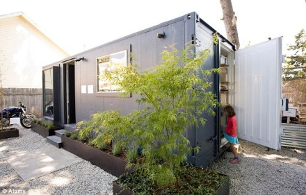 美国的集装箱住宅