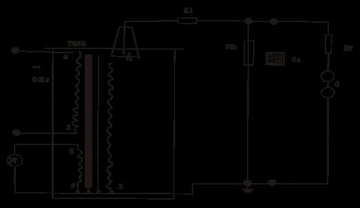 工频耐压试验中限流电阻r1应根据试验变压器的额定容量来选择.